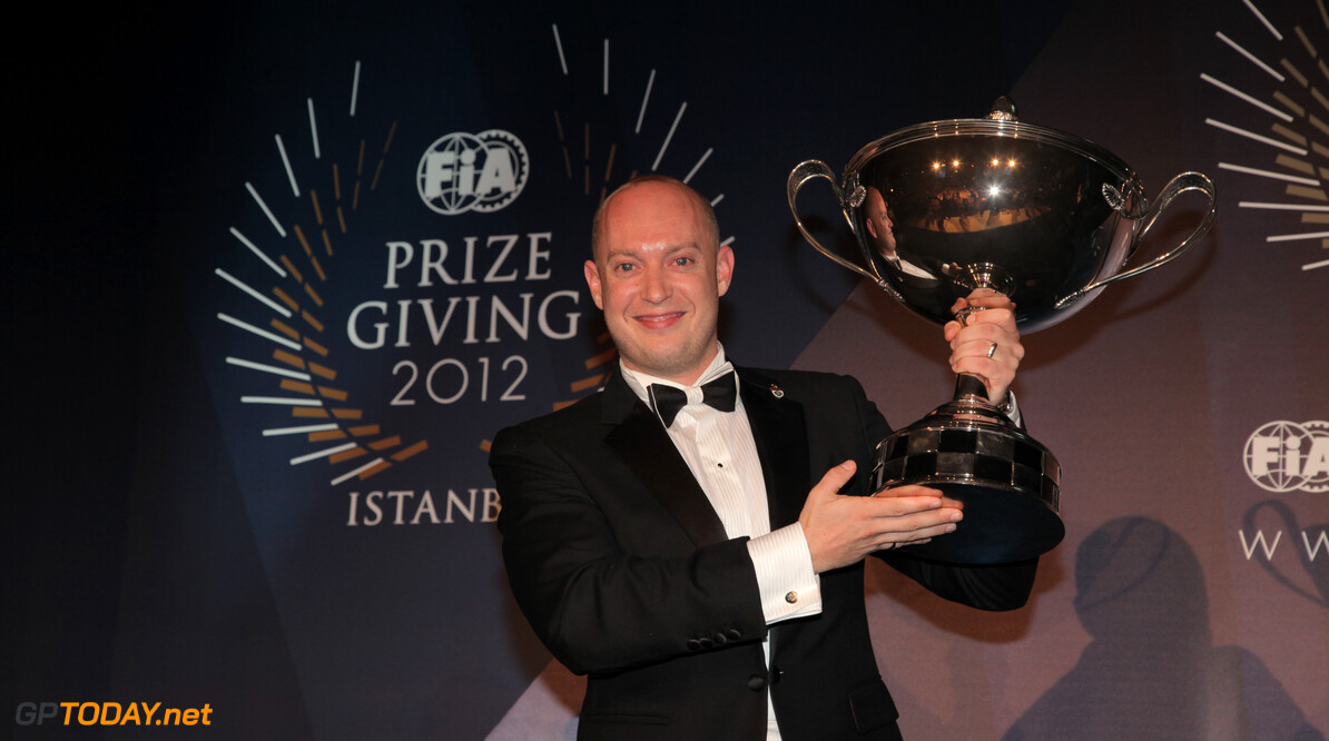 FIA Prize Giving Gala 2012 - Istanbul - FIA World Touring Car Championship - Robert Huff