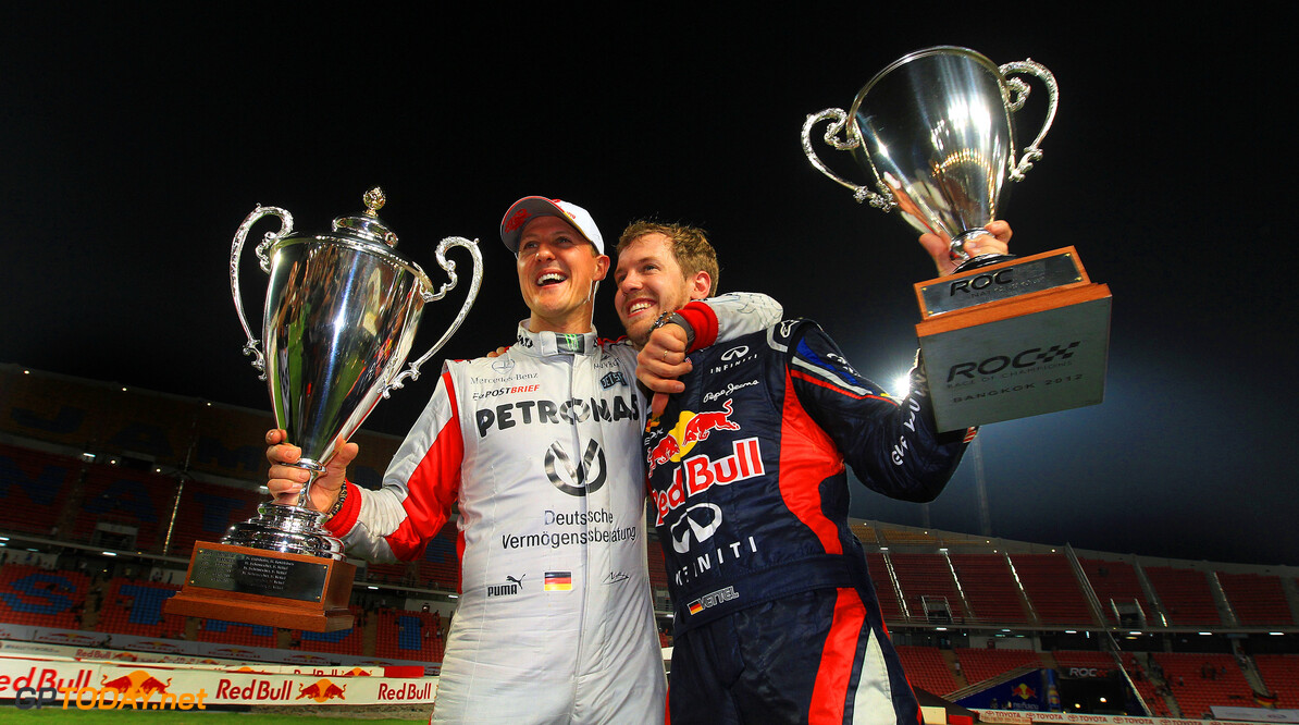 Vettel is much more sensitive than Schumacher - Weber