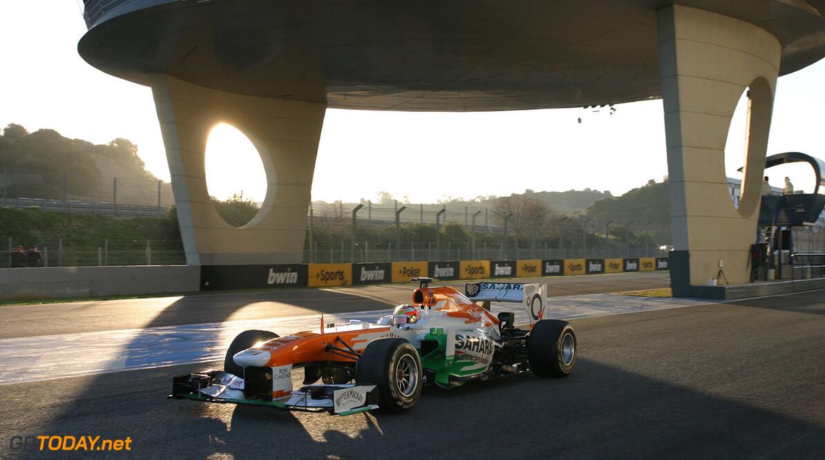 Sutil past stoeltje bij Force India