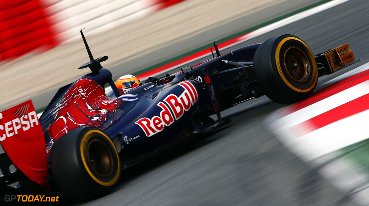 160867076KR00214_F1_Testing MONTMELO, SPAIN - FEBRUARY 21:  Jean-Eric Vergne of France and Scuderia Toro Rosso drives during day three of Formula One winter test at the Circuit de Catalunya on February 21, 2013 in Montmelo, Spain.  (Photo by Andrew Hone/Getty Images) *** Local Caption *** Jean-Eric Vergne F1 Testing in Barcelona - Day Three Andrew Hone Montmelo Spain  Formula One Racing Barcelona