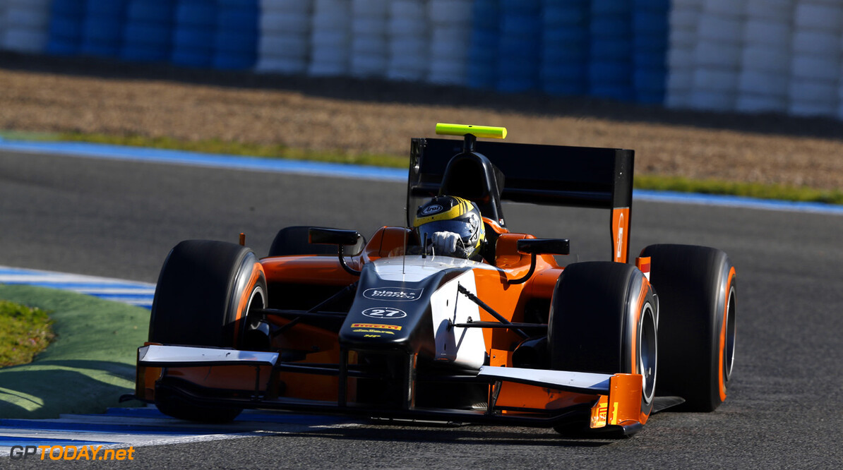 2013 GP2 Series Testing. Jerez, Spain.  Day 1. Tuesday 26th February 2013. Daniel de Jong (NED, MP Motorsport). Action.  Photo: Alastair Staley/GP2 Series Media Service ref: _R6T5730