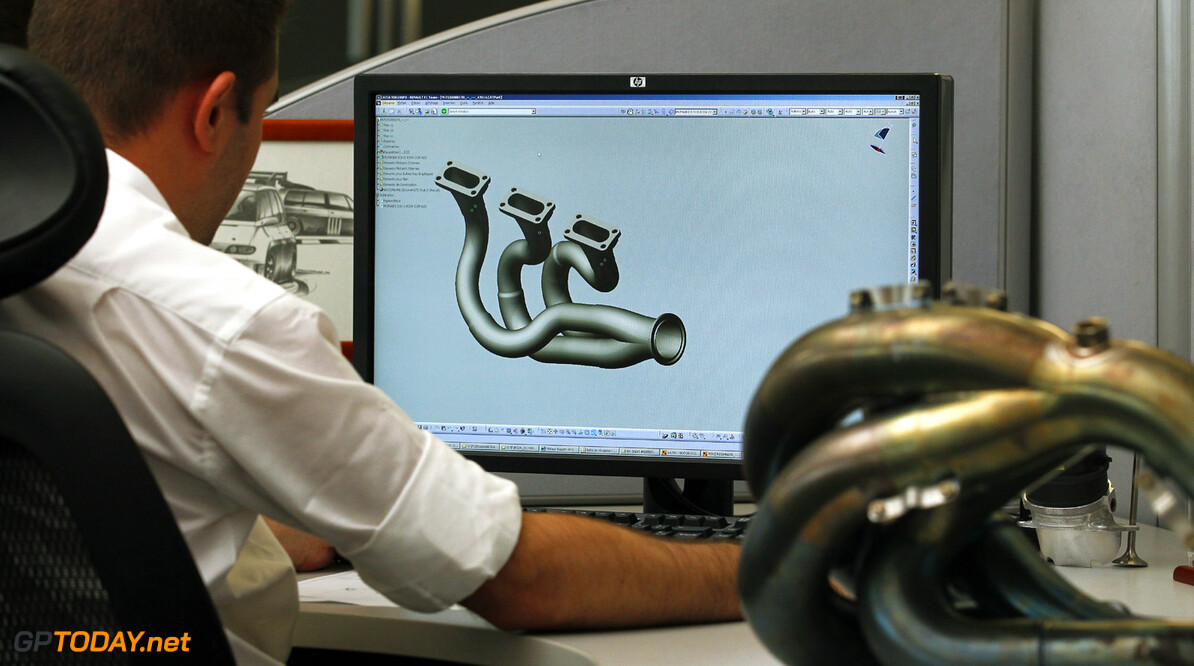 F1 2012 - MOTEUR RENAULT F1 RS 34 - VIRY CHATILLON 29/08/2012 - PHOTO: JEAN MICHEL LE MEUR / DPPI      RENAULT SPORT F1