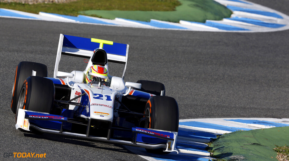 2013 GP2 Series Testing. Jerez, Spain. 