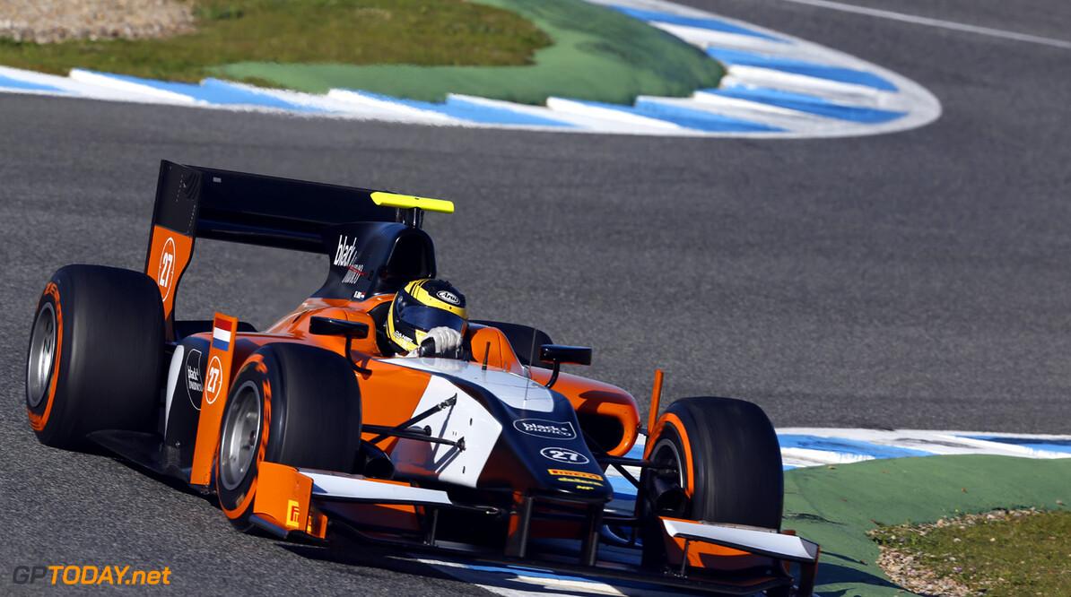 2013 GP2 Series Testing. Jerez, Spain.  Day 2. Wednesday 27th February 2013. Daniel de Jong (NED, MP Motorsport). Action.  Photo: Alastair Staley/GP2 Series Media Service ref: _R6T6256