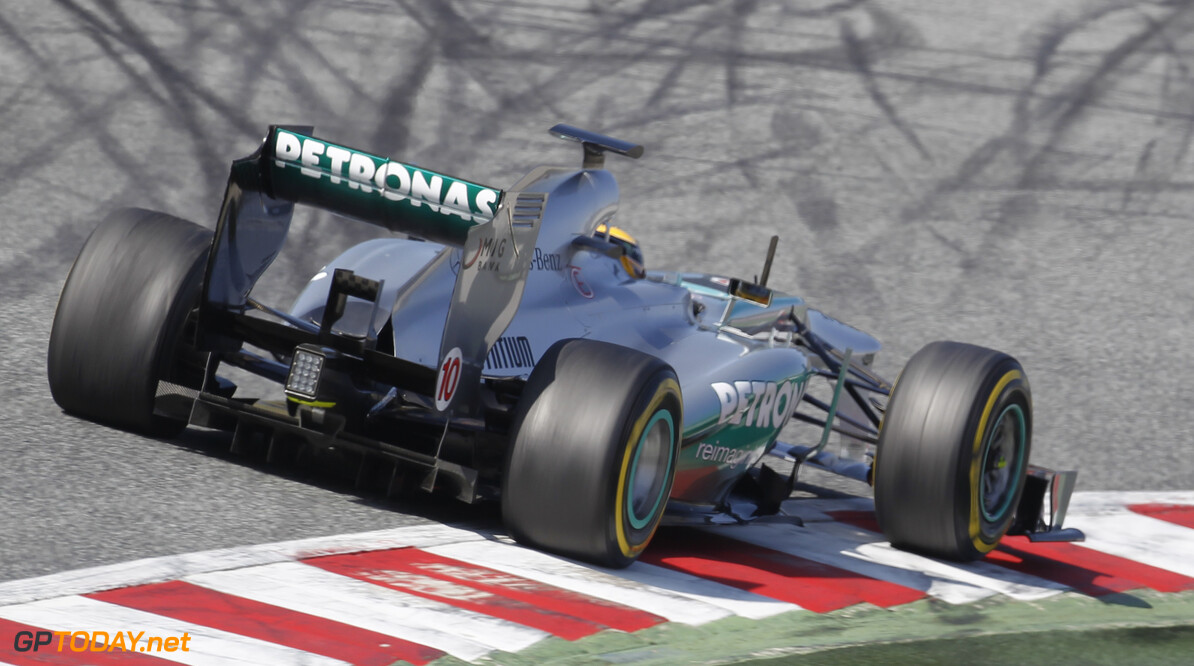 'Test-gate' whispers linger as Mercedes speeds ahead