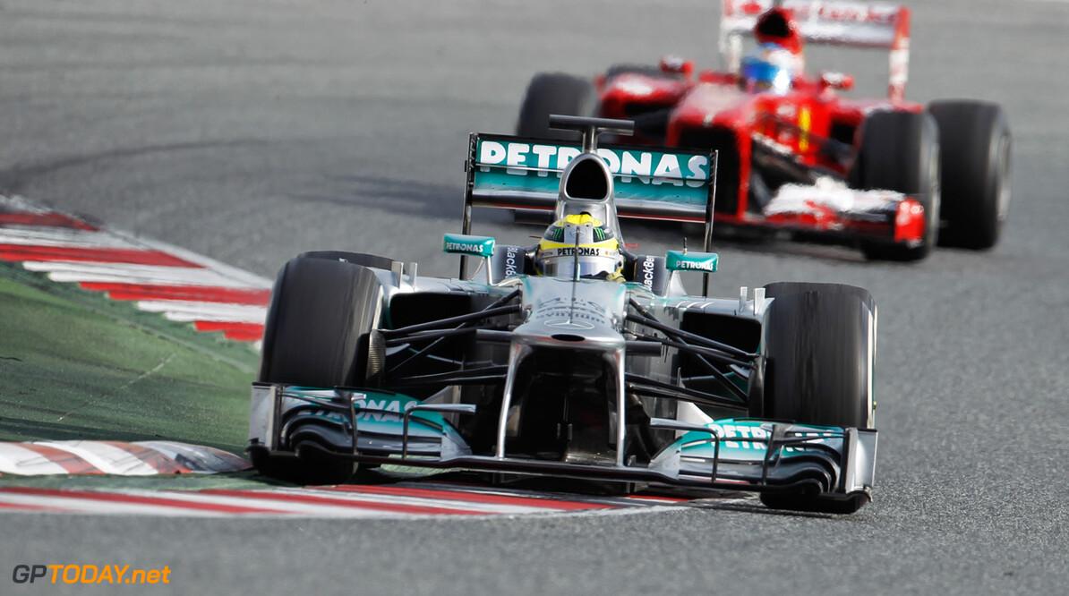 'Actieve wielophanging geheime wapen van Mercedes'