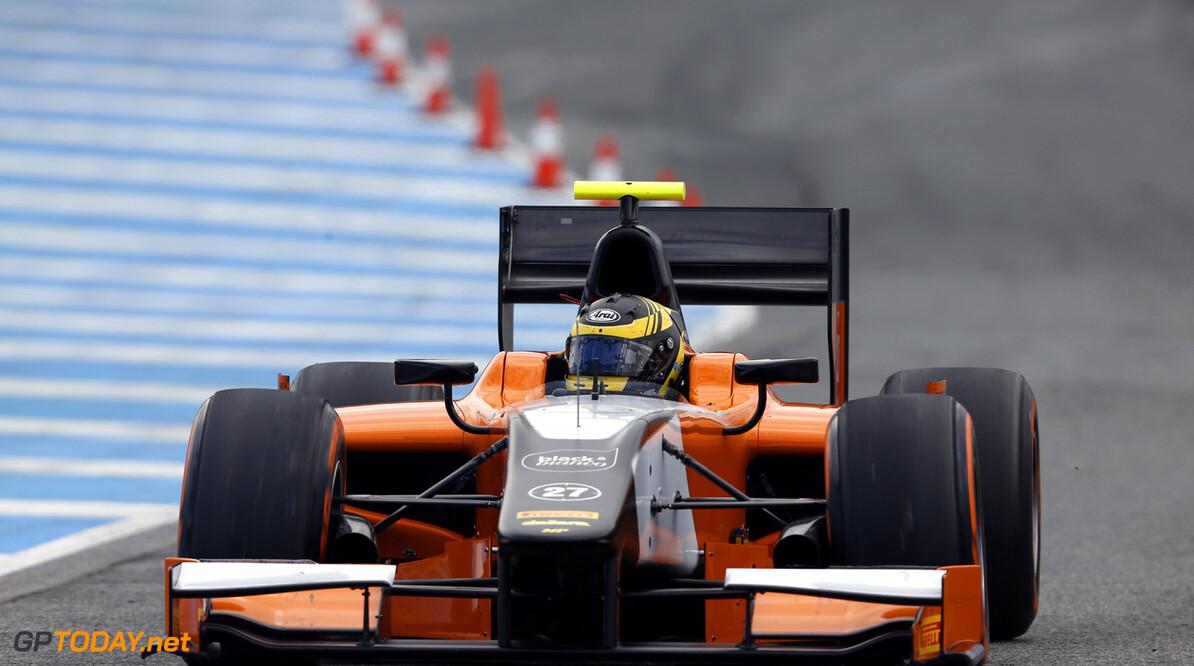 2013 GP2 Series Testing. Jerez, Spain.  Day 3. Thursday 28th February 2013. Daniel de Jong (NED, MP Motorsport). Action.  Photo: Alastair Staley/GP2 Series Media Service ref: _R6T8936