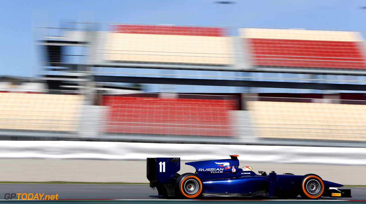 2013 GP2 Series Testing. Barcelona, Spain. 