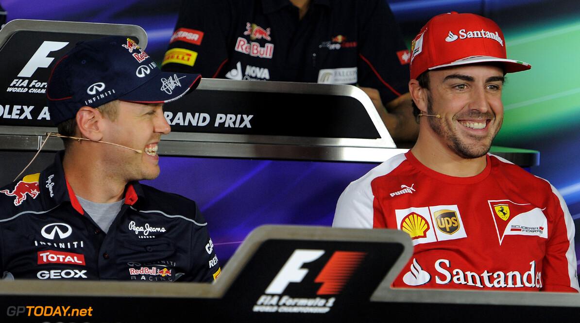 """Alonso blijft bij mening: """"Vettel niet de beste coureur"""""""