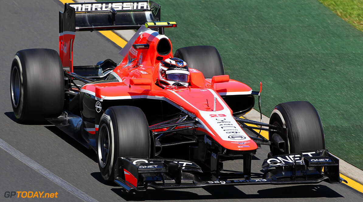 Formula One World Championship Max Chilton (GBR) Marussia F1 Team MR02.