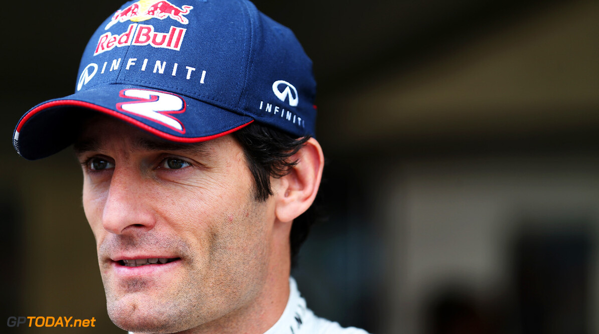 163375438KR00009_Australian MELBOURNE, AUSTRALIA - MARCH 14:  Mark Webber of Australia and Infiniti Red Bull Racing talks in the paddock during previews to the Australian Formula One Grand Prix at the Albert Park Circuit on March 14, 2013 in Melbourne, Australia.  (Photo by Mark Thompson/Getty Images) *** Local Caption *** Mark Webber Australian F1 Grand Prix - Previews Mark Thompson Melbourne Australia  Formula One Racing formula 1 Auto Racing Formula 1 Australian Grand Prix Australian Formula One Grand Pr Formula One Grand Prix Australia F1 Grand Prix