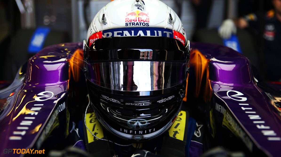 163375443KR00103_Australian MELBOURNE, AUSTRALIA - MARCH 15:  Sebastian Vettel of Germany and Infiniti Red Bull Racing prepares to drive during practice for the Australian Formula One Grand Prix at the Albert Park Circuit on March 15, 2013 in Melbourne, Australia.  (Photo by Mark Thompson/Getty Images) *** Local Caption *** Sebastian Vettel Australian F1 Grand Prix - Practice Mark Thompson Melbourne Australia  Formula One Racing formula 1 Auto Racing Formula 1 Australian Grand Prix Australian Formula One Grand Pr Formula One Grand Prix Australia F1 Grand Prix