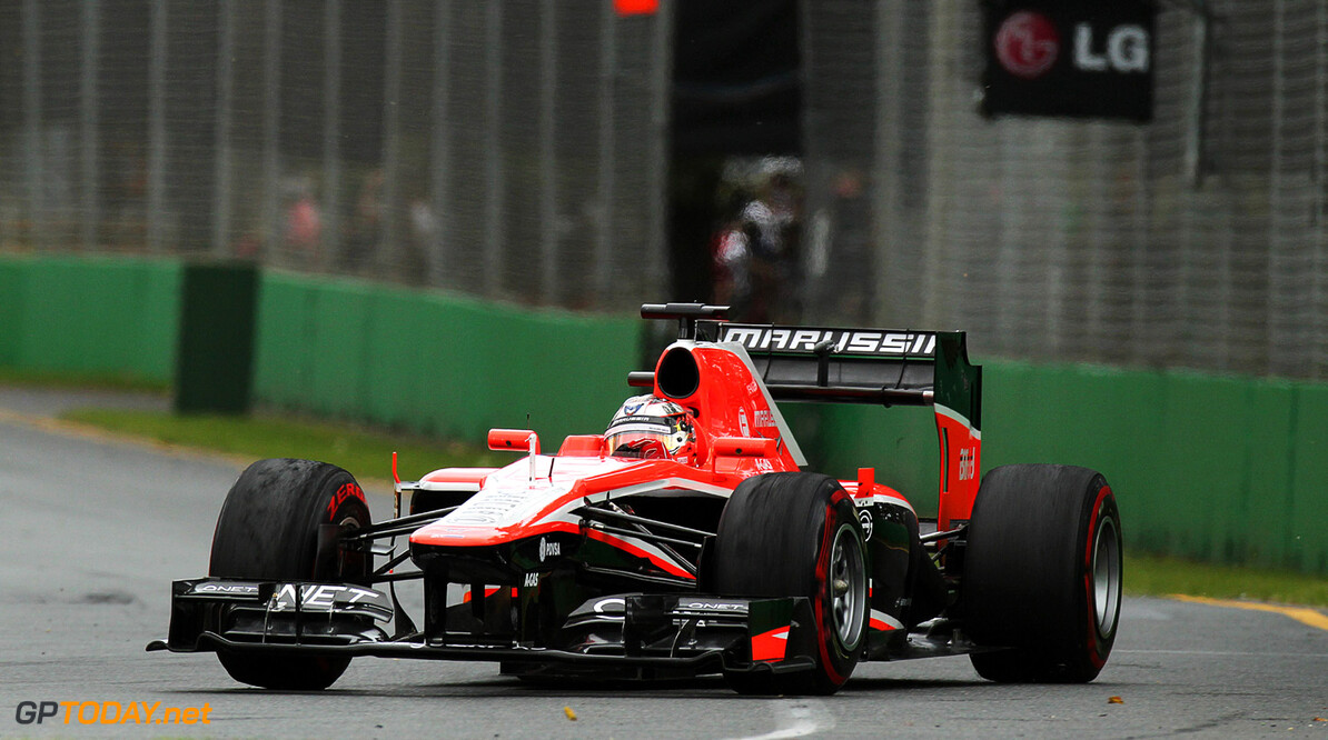 Formula One World Championship Jules Bianchi (FRA) Marussia F1 Team MR02.