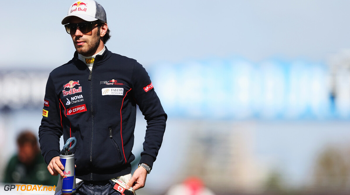 163375451KR00156_Australian MELBOURNE, AUSTRALIA - MARCH 17:  Jean-Eric Vergne of France and Scuderia Toro Rosso attends the drivers parade before the start of the Australian Formula One Grand Prix at the Albert Park Circuit on March 17, 2013 in Melbourne, Australia.  (Photo by Mark Thompson/Getty Images) *** Local Caption *** Jean-Eric Vergne Australian F1 Grand Prix - Race Mark Thompson Melbourne Australia  Formula One Racing formula 1 Auto Racing Formula 1 Australian Grand Prix Australian Formula One Grand Pr Formula One Grand Prix Australia F1 Grand Prix