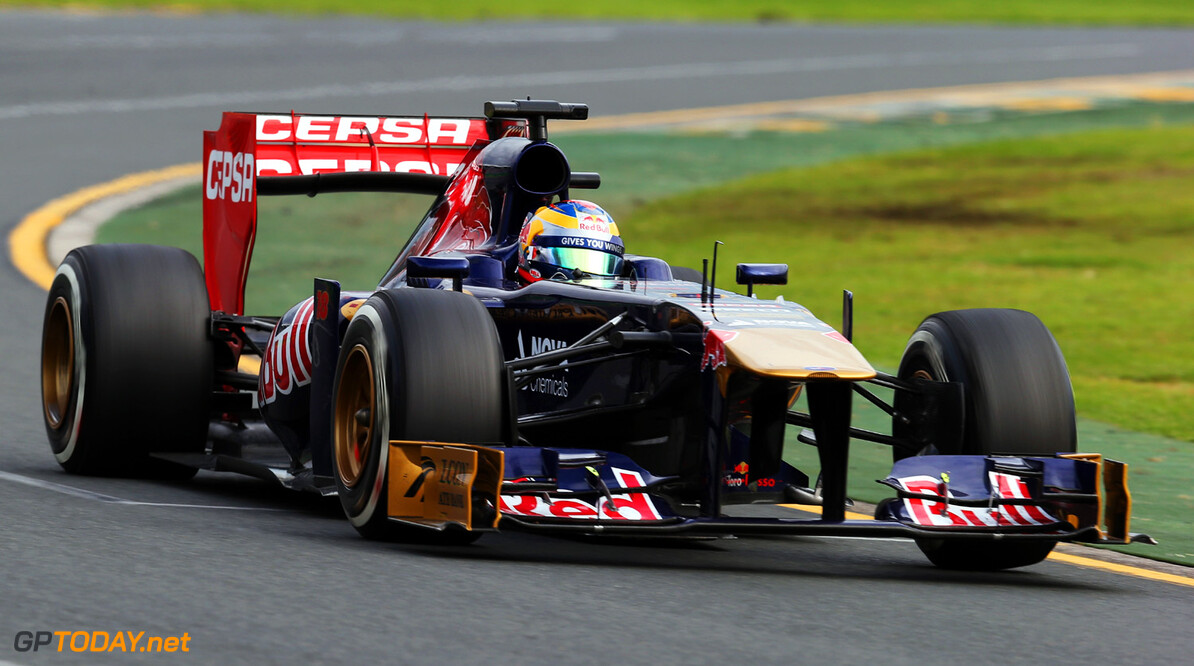 163375451KR00158_Australian MELBOURNE, AUSTRALIA - MARCH 17:  Jean-Eric Vergne of France and Scuderia Toro Rosso drives during the Australian Formula One Grand Prix at the Albert Park Circuit on March 17, 2013 in Melbourne, Australia.  (Photo by Mark Thompson/Getty Images) *** Local Caption *** Jean-Eric Vergne Australian F1 Grand Prix - Race Mark Thompson Melbourne Australia  Formula One Racing formula 1 Auto Racing Formula 1 Australian Grand Prix Australian Formula One Grand Pr Formula One Grand Prix Australia F1 Grand Prix