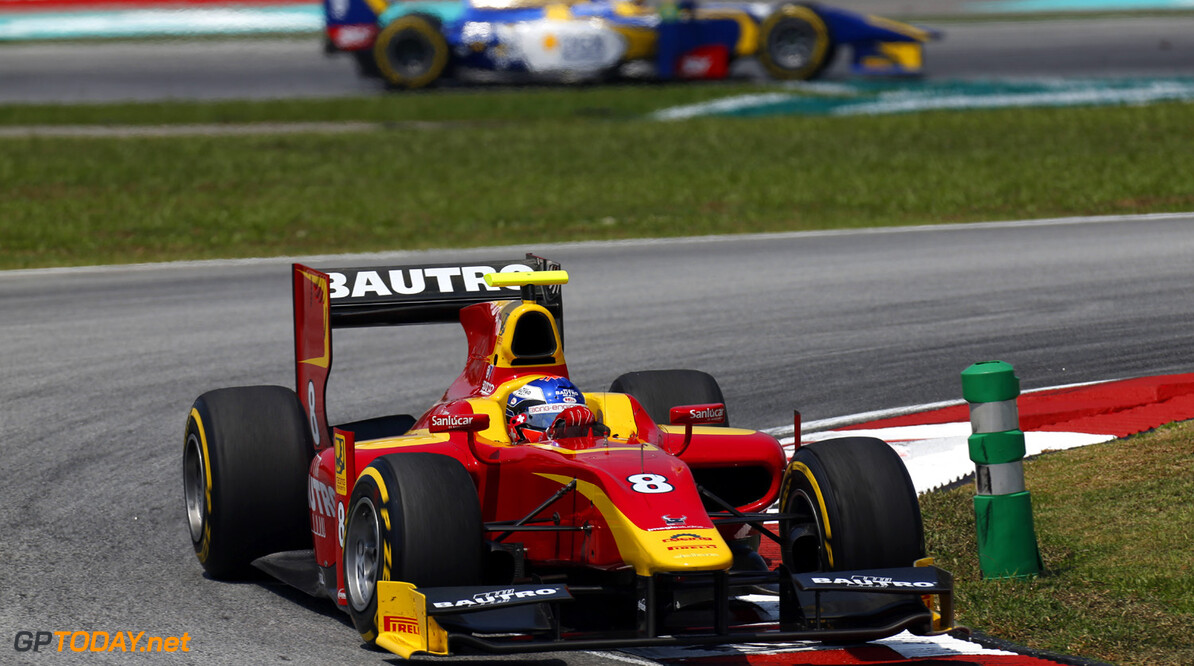 2013 GP2 Series. Round 1.  Sepang, Kuala Lumpur, Malaysia. 23rd March 2013.  Saturday Race.  Fabio Leimer (SUI, Racing Engineering). Action.  World Copyright: Alastair Staley/GP2 Series Media Service.  ref: _R6T0634