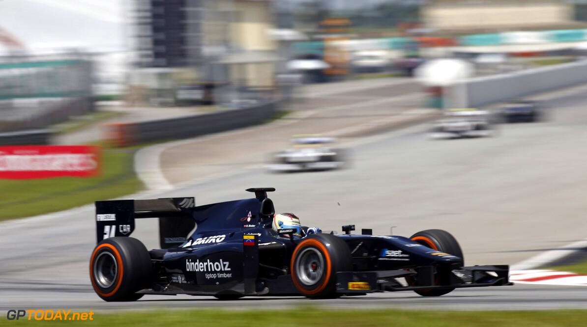 2013 GP2 Series. Round 1.  Sepang, Kuala Lumpur, Malaysia. 23rd March 2013.  Saturday Race.  Rene Binder (AUT, Venezuela GP Lazarus). Action.  World Copyright: Glenn Dunbar/GP2 Series Media Service.  ref: _89P8046