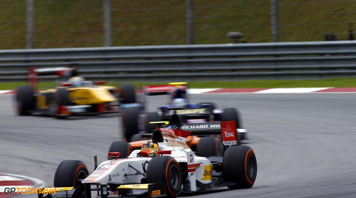 2013 GP2 Series. Round 1.  Sepang, Kuala Lumpur, Malaysia. 24th March 2013.  Sunday Race.  Daniel Abt (GER, ART Grand Prix). Action.  World Copyright: Alastair Staley/GP2 Series Media Service.  ref: _89P0285
