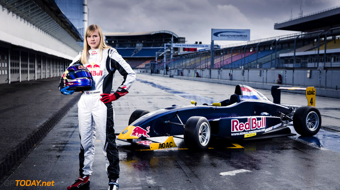 Beitske Visser poses for a portrait at Hockenheimring in Hockenheim, Germany on March 19th, 2013 // Tim Ludin / Red Bull Content Pool // P-20130327-00103 // Usage for editorial use only // Please go to www.redbullcontentpool.com for further information. //  Beitske Visser - Portrait  Hockenheim Germany  P-20130327-00103