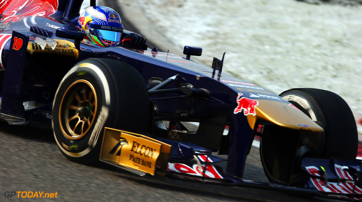 163375761KR00159_F1_Grand_P SHANGHAI, CHINA - APRIL 14:  Daniel Ricciardo of Australia and Scuderia Toro Rosso drives during the Chinese Formula One Grand Prix at the Shanghai International Circuit on April 14, 2013 in Shanghai, China.  (Photo by Mark Thompson/Getty Images) *** Local Caption *** Daniel Ricciardo F1 Grand Prix of China - Race Mark Thompson Shanghai China  Formula One Racing formula 1 Auto Racing Formula 1 Grand Prix of China Chinese Formula One Grand Prix Formula One Grand Prix