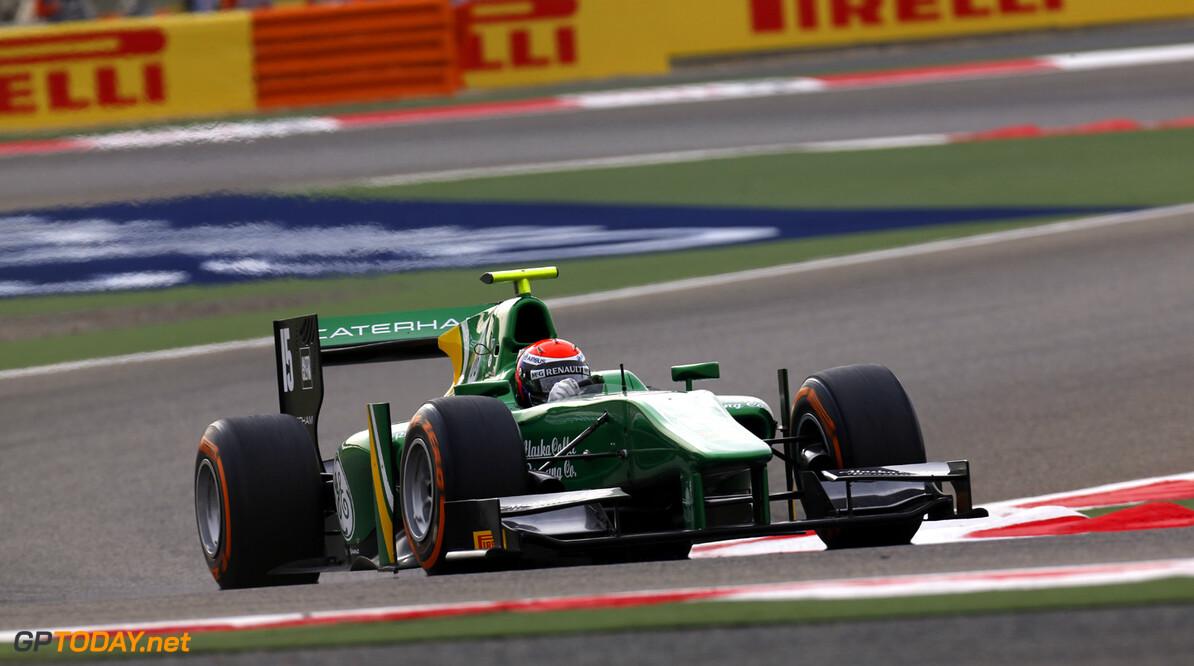 2013 GP2 Series. Round 2.  Bahrain International Circuit, Sakhir, Bahrain. 20th April.  Saturday Race. Alexander Rossi (USA, Caterham Racing). Action.  World Copyright: Alastair Staley/GP2 Series Media Service. Ref: _R6T6841