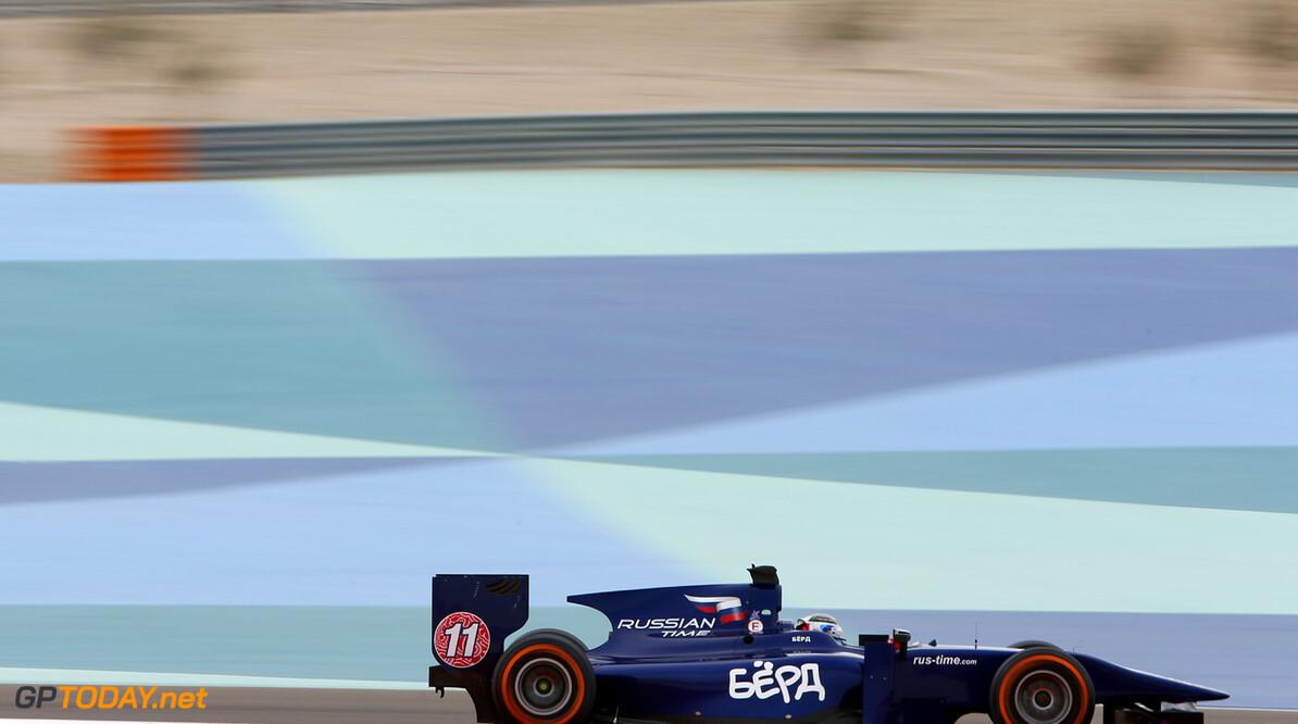 2013 GP2 Series. Round 2.  Bahrain International Circuit, Sakhir, Bahrain. 19th April.  Friday Practice.  Sam Bird (GBR, RUSSIAN TIME). Action.  World Copyright: Alastair Staley/GP2 Series Media Service. Ref: _R6T4444
