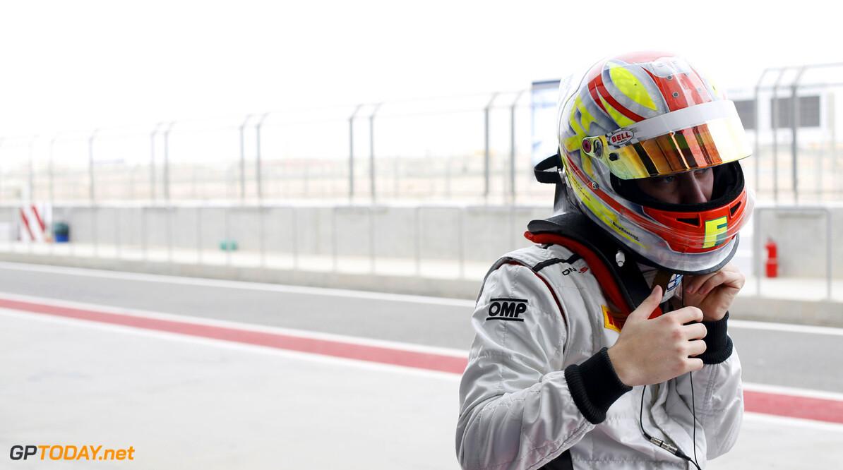 2013 GP2 Series. Round 2.  Bahrain International Circuit, Sakhir, Bahrain. 20th April.  Saturday Race. Robin Frijns (NED, Hilmer Motorsport).  World Copyright: Alastair Staley/GP2 Series Media Service. Ref: _R6T6178