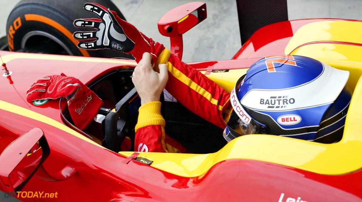 2013 GP2 Series. Round 2.  Bahrain International Circuit, Sakhir, Bahrain. 20th April.  Saturday Race. Fabio Leimer (SUI, Racing Engineering). World Copyright: Alastair Staley/GP2 Series Media Service. Ref: _R6T6284