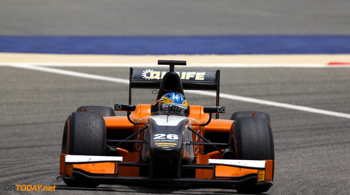 2013 GP2 Series. Round 2.  Bahrain International Circuit, Sakhir, Bahrain. 21st April.  Sunday Race.  Adrian Quaife-Hobbs (GBR, MP Motorsport). Action.  World Copyright: Alastair Staley/GP2 Series Media Service. Ref: _R6T7707