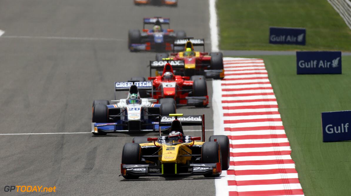2013 GP2 Series. Round 2.  Bahrain International Circuit, Sakhir, Bahrain. 21st April.  Sunday Race.  Stephane Richelmi (MON, Dams). Action.  World Copyright: Glenn Dunbar/GP2 Series Media Service. Ref: _89P4032