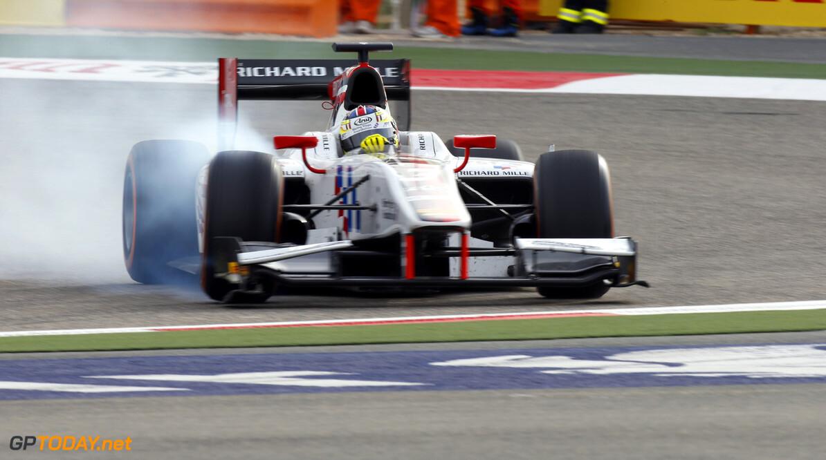 2013 GP2 Series. Round 2.  Bahrain International Circuit, Sakhir, Bahrain. 20th April.  Saturday Race. James Calado (GBR , ART Grand Prix). Action.  World Copyright: Glenn Dunbar/GP2 Series Media Service. Ref: _89P3683