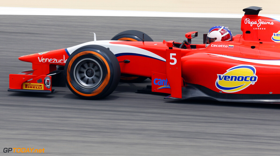 2013 GP2 Series. Round 2.  Bahrain International Circuit, Sakhir, Bahrain. 19th April.  Friday Practice.  Johnny Cecotto (VEN, Arden Inernational). Action.  World Copyright: Alastair Staley/GP2 Series Media Service. Ref: _R6T4706