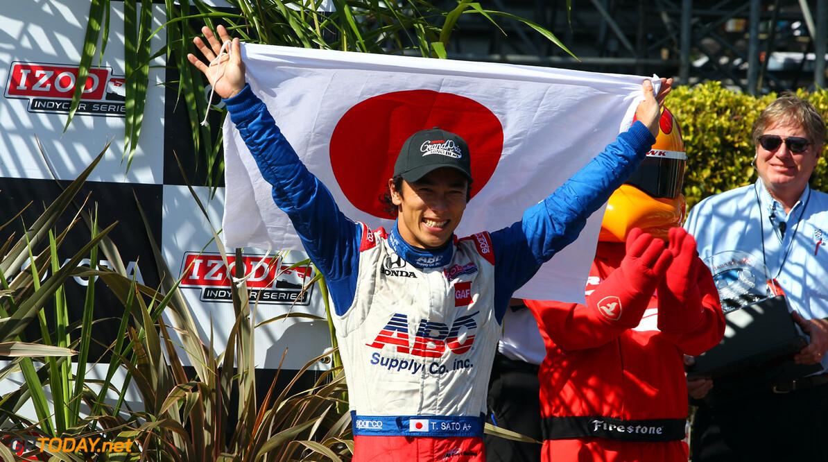 Takuma Sato ook in 2014 voor AJ Foyt Racing