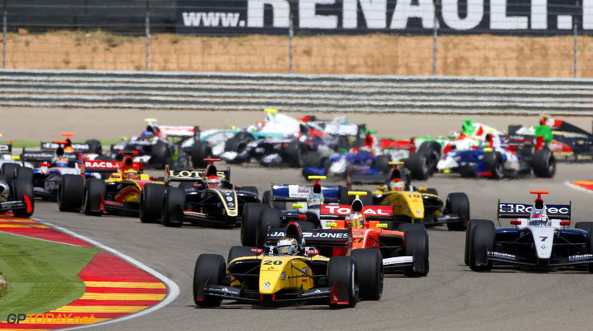MOTORSPORT - WORLD SERIES BY RENAULT 2013 - MOTORLAND ARAGON (ESP) - 26 TO 28/04/2013 - PHOTO FRANCOIS FLAMAND / DPPI - 20 MAGNUSSEN KEVIN (DEN) - DAMS - FORMULE RENAULT 3.5 - ACTION