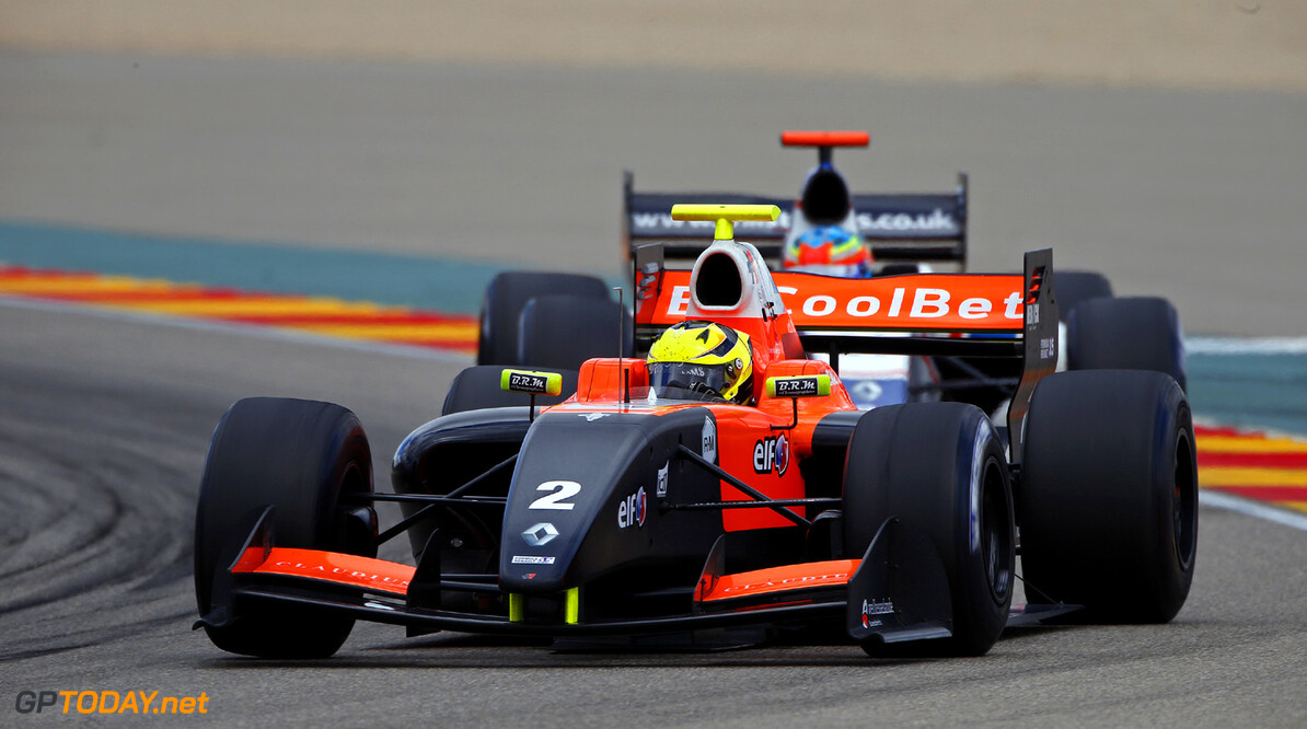 MOTORSPORT - WORLD SERIES BY RENAULT 2013 - MOTORLAND ARAGON (ESP) - 26 TO 28/04/2013 - PHOTO FRANCOIS FLAMAND / DPPI - 02 MELKER NIGEL (NED) - TECH 1 RACING - FORMULE RENAULT 3.5 - ACTION AUTO - WORLD SERIES BY RENAULT MOTORLAND 2013 FRANCOIS FLAMAND MOTORLAND ESPAGNE  2013 CIRCUITS Europe FR 3.5 MOTOR RACING Motorsport Sport WORLD SERIES BY RENAULT MEGANE 2.0 CHAMPIONSHIP WORLD WSR