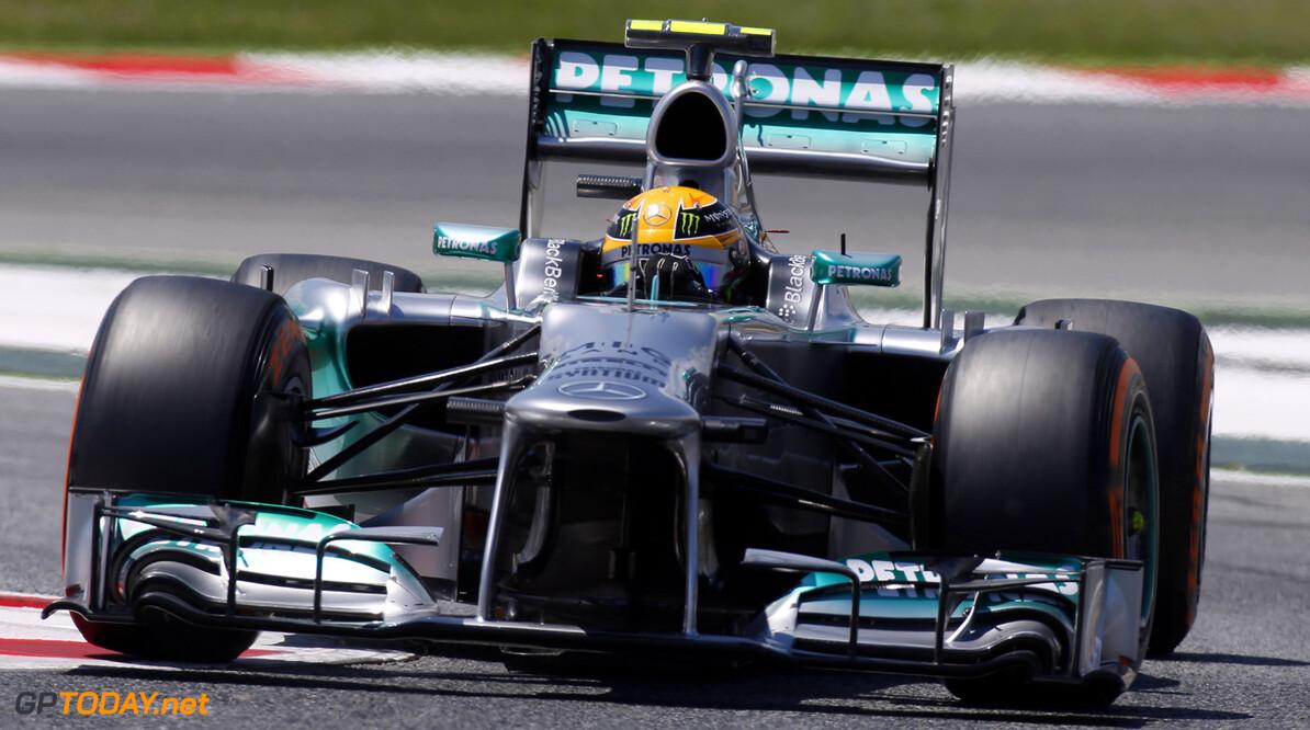 Mercedes onder vuur na geheime Pirelli-test in Spanje