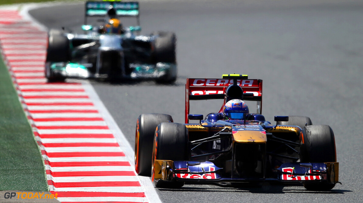 163377260KR00171_Spanish_F1 MONTMELO, SPAIN - MAY 12:  Daniel Ricciardo of Australia and Scuderia Toro Rosso drives during the Spanish Formula One Grand Prix at the Circuit de Catalunya on May 12, 2013 in Montmelo, Spain.  (Photo by Clive Rose/Getty Images) *** Local Caption *** Daniel Ricciardo Spanish F1 Grand Prix - Race Clive Rose Montmelo Spain  Formula One Racing formula 1 Auto Racing Spain F1 Grand Prix Spanish Formula One Grand Prix Formula One Grand Prix Barcelona