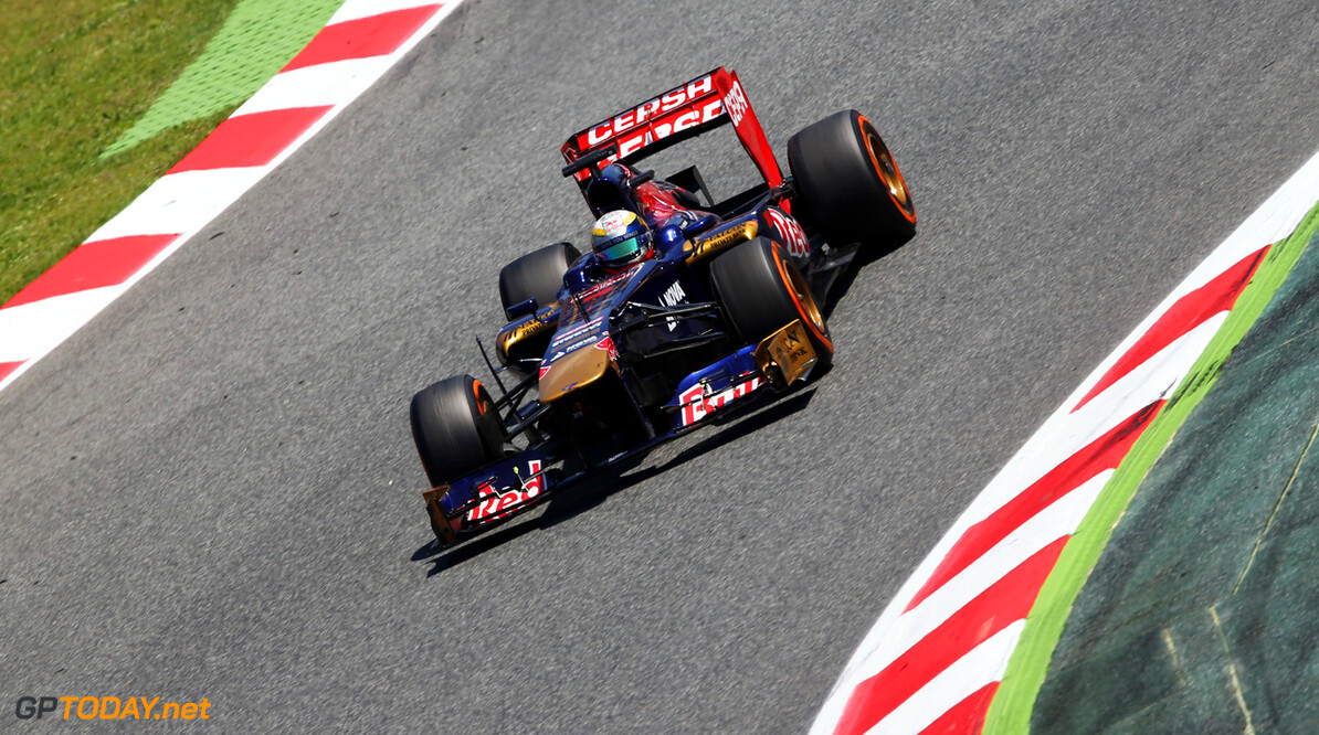 163377260KR00160_Spanish_F1 MONTMELO, SPAIN - MAY 12:  Jean-Eric Vergne of France and Scuderia Toro Rosso drives during the Spanish Formula One Grand Prix at the Circuit de Catalunya on May 12, 2013 in Montmelo, Spain.  (Photo by Mark Thompson/Getty Images) *** Local Caption *** Jean-Eric Vergne Spanish F1 Grand Prix - Race Mark Thompson Montmelo Spain  Formula One Racing formula 1 Auto Racing Spain F1 Grand Prix Spanish Formula One Grand Prix Formula One Grand Prix Barcelona