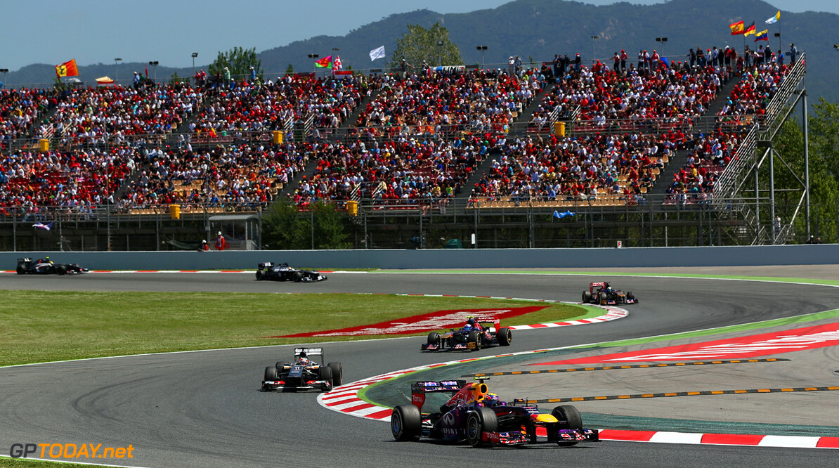 163377260KR00122_Spanish_F1 MONTMELO, SPAIN - MAY 12:  Mark Webber of Australia and Infiniti Red Bull Racing drives during the Spanish Formula One Grand Prix at the Circuit de Catalunya on May 12, 2013 in Montmelo, Spain.  (Photo by Clive Rose/Getty Images) *** Local Caption *** Mark Webber Spanish F1 Grand Prix - Race Clive Rose Montmelo Spain  Formula One Racing formula 1 Auto Racing Spain F1 Grand Prix Spanish Formula One Grand Prix Formula One Grand Prix Barcelona