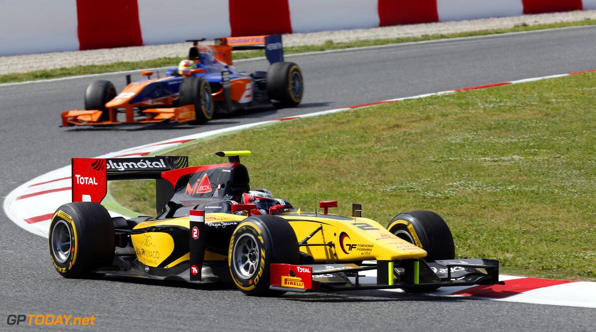 2013 GP2 Series. Round 3.  Circuit de Catalunya, Barcelona Spain. 11th May 2013. Saturday Race. Stephane Richelmi (MON, Dams). Action.  World Copyright: Alastair Staley/GP2 Series Media Service. Ref: _R6T2996