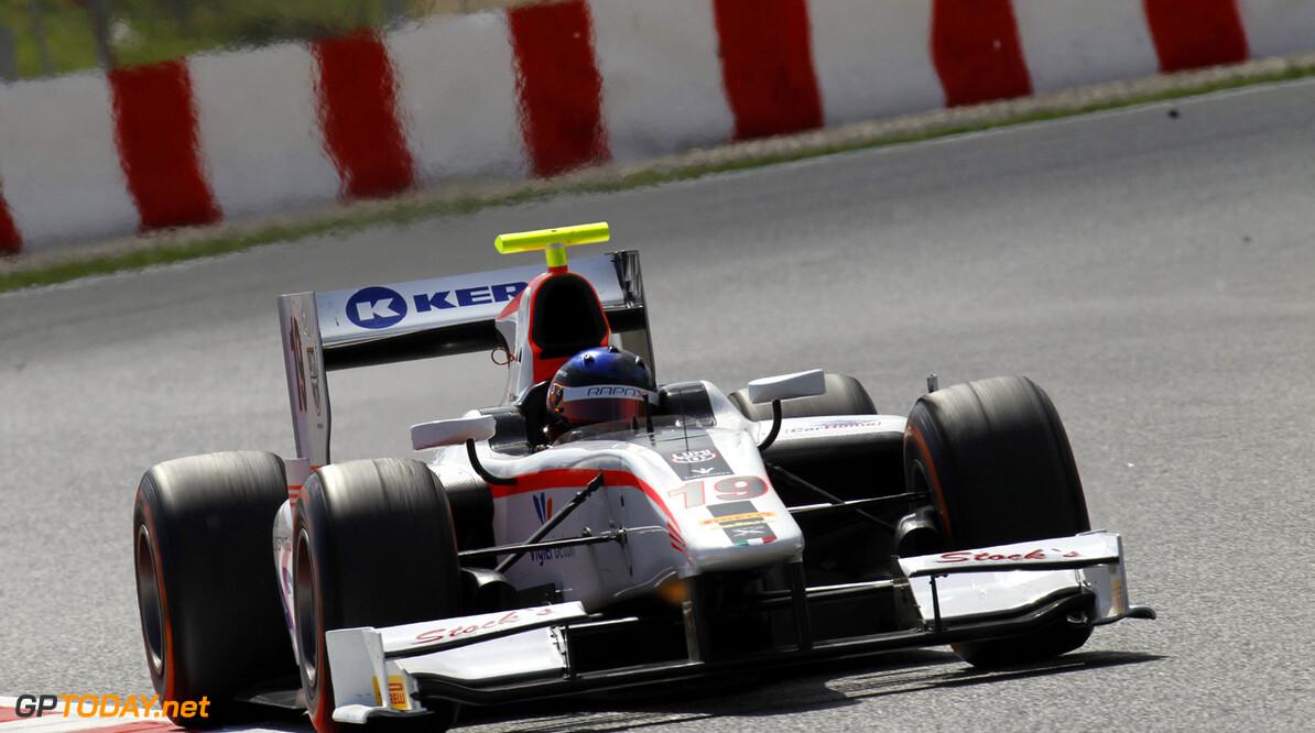2013 GP2 Series. Round 3.  Circuit de Catalunya, Barcelona Spain. 11th May 2013. Saturday Race. Simon Trummer (SUI, Rapax). Action.  World Copyright: Alastair Staley/GP2 Series Media Service. Ref: _A8C3038