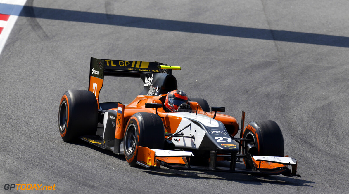 2013 GP2 Series. Round 3.  Circuit de Catalunya, Barcelona Spain. 11th May 2013. Saturday Race. Daniel de Jong (NED, MP Motorsport). Action.  World Copyright: Alastair Staley/GP2 Series Media Service. Ref: _R6T3429
