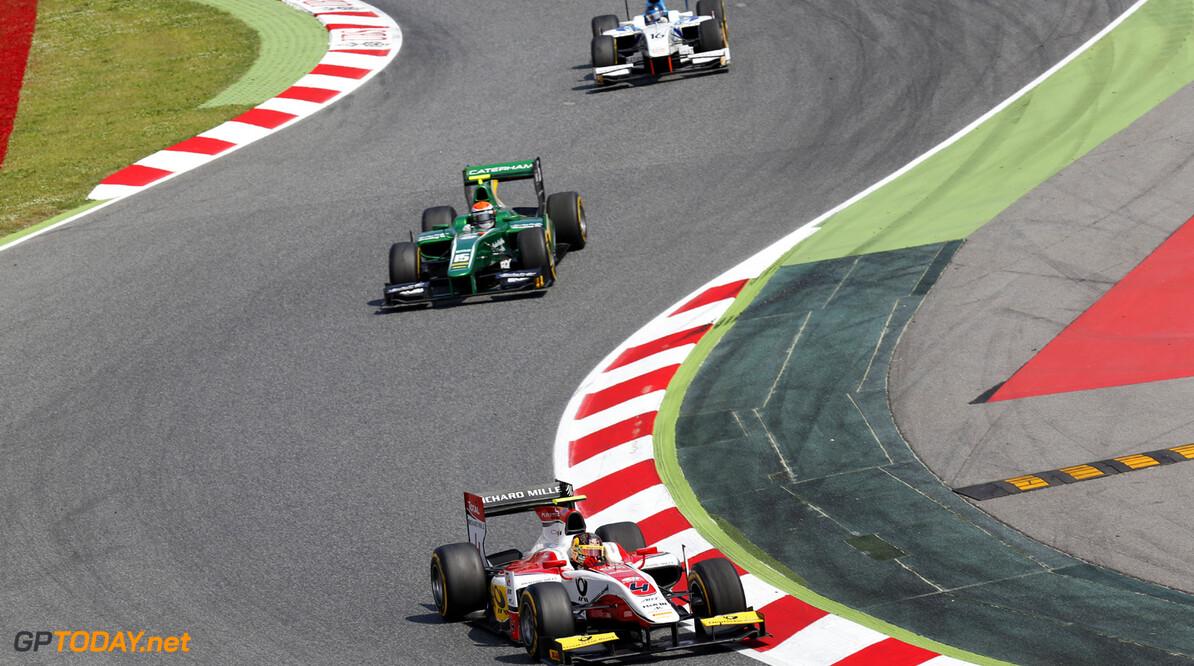 2013 GP2 Series. Round 3.  Circuit de Catalunya, Barcelona Spain. 11th May 2013. Saturday Race. Daniel Abt (GER, ART Grand Prix). Action.  World Copyright: Alastair Staley/GP2 Series Media Service. Ref: _R6T2959