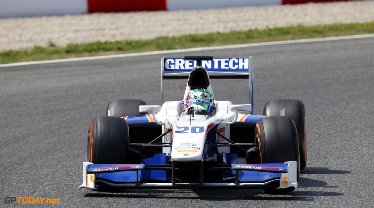 2013 GP2 Series. Round 3.  Circuit de Catalunya, Barcelona Spain. 11th May 2013. Saturday Race. Nathanael Berthon (FRA, Trident Racing). Action.  World Copyright: Alastair Staley/GP2 Series Media Service. Ref: _R6T2922