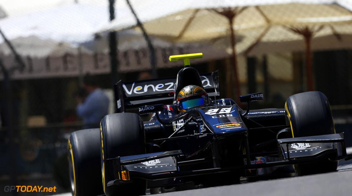 2013 GP2 Series. Round 4.  Monte Carlo, Monaco. 23rd May 2013. Thursday Practice. Kevin Giovesi (ITA, Venezuela GP Lazarus). Action.  World Copyright: Charles Coates/GP2 Series Media Service. Ref: _N7T2216