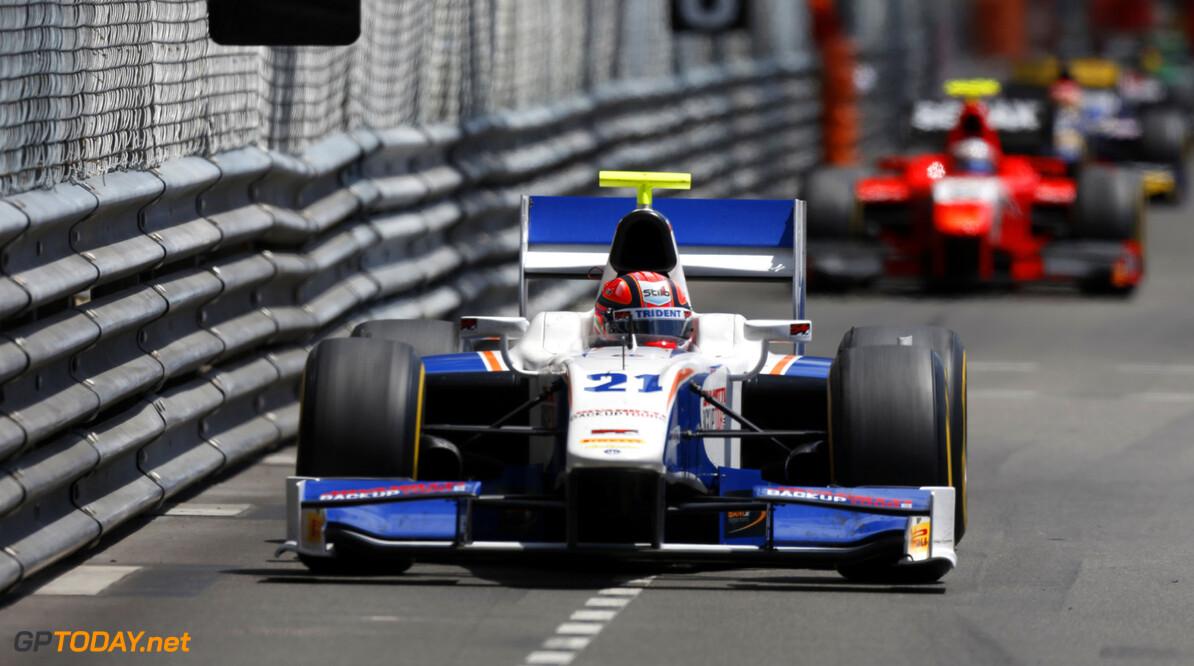 2013 GP2 Series. Round 4.  Monte Carlo, Monaco. 24th May 2013. Friday Race. Kevin Ceccon (ITA, Trident Racing). Action.  World Copyright: Andrew Ferraro/GP2 Series Media Service. Ref: _79P9652