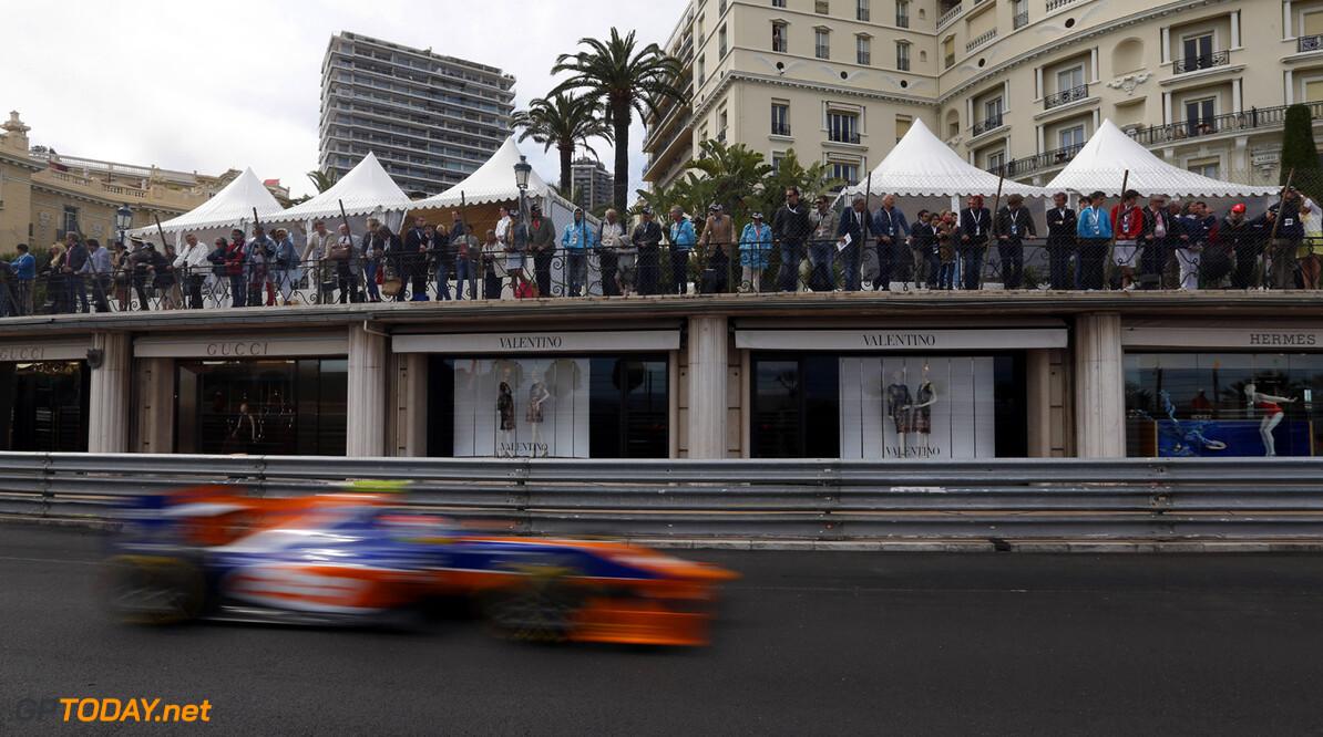 2013 GP2 Series. Round 4.  Monte Carlo, Monaco. 25th May 2013. Saturday Race. Robin Frijns (NED, Hilmer Motorsport). Action.  World Copyright: Alastair Staley/GP2 Series Media Service. Ref: _R6T1233