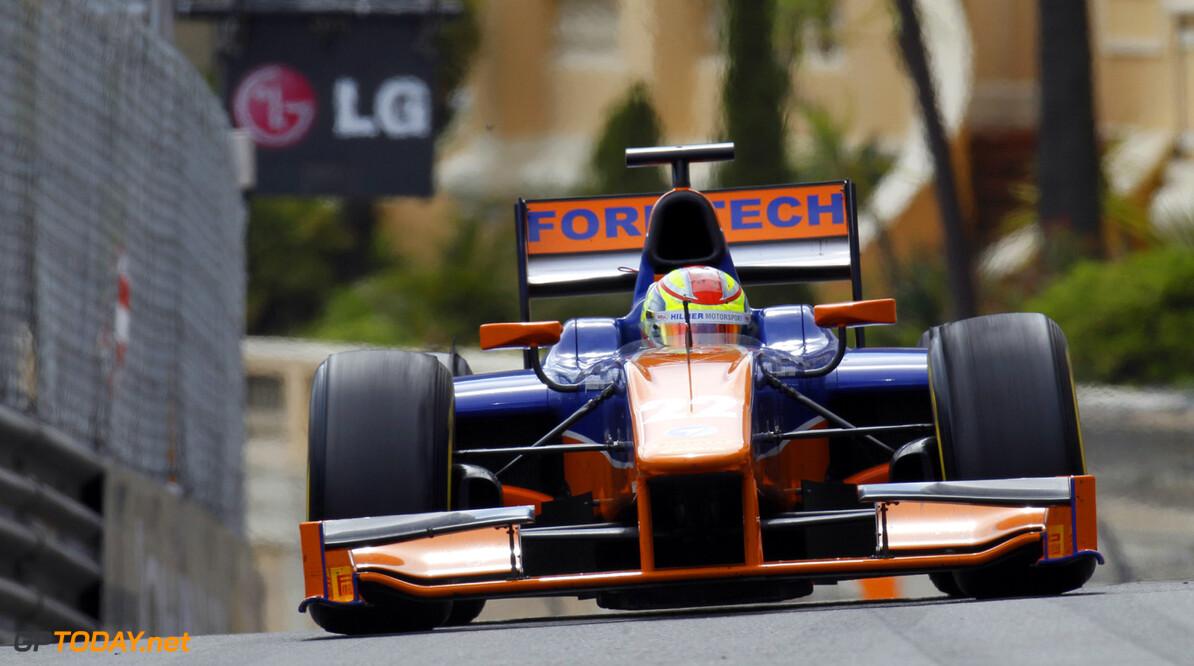 2013 GP2 Series. Round 4.  Monte Carlo, Monaco. 25th May 2013. Saturday Race. Robin Frijns (NED, Hilmer Motorsport). Action.  World Copyright: Alastair Staley/GP2 Series Media Service. Ref: _A8C5709