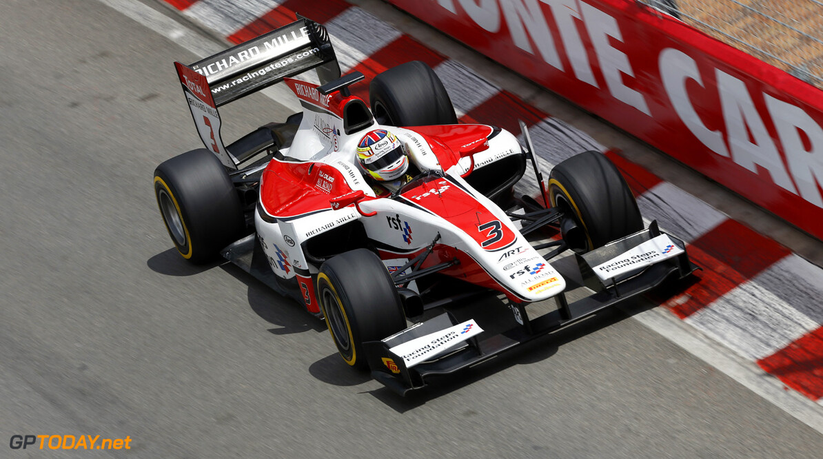2013 GP2 Series. Round 4.  Monte Carlo, Monaco. 24th May 2013. Friday Race. James Calado (GBR , ART Grand Prix). Action.  World Copyright: Andrew Ferraro/GP2 Series Media Service. Ref: _79P9446