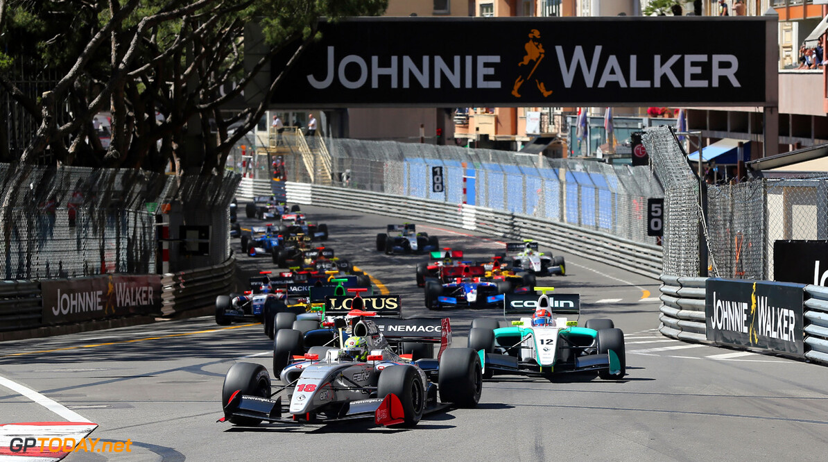 MOTORSPORT - FORMULE RENAULT 3.5 2013 -  GRAND PRIX OF MONACO / GRAND PRIX DE MONACO - MONTE CARLO (MON) - 23 TO 26/05/2013 - PHOTO  ALEXANDRE GUILLAUMOT / DPPI - START RACE AUTO - FR 3.5 GRAND PRIX OF MONACO 2013 ALEXANDRE GUILLAUMOT MONACO MONACO  Auto f1 formula 1 Formula One FORMULE 1 FORMULE UN GP Grand Prix Motorsport Sport